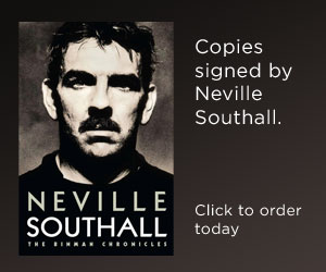 Buy the Binman Chronicles - Signed copies by Neville Southall