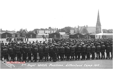 Litherland Camp in 1915