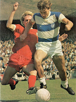 Dave Thomas in his QPR days