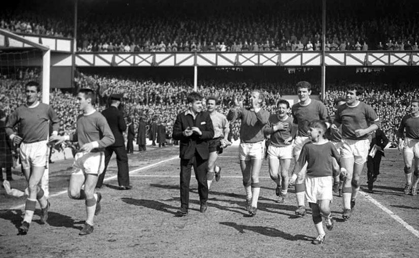 John Murray and lap of honour