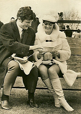 Brian and Pat Labone at the races