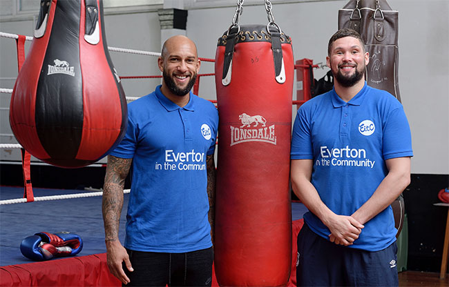 Tim Howard and Tony Bellew