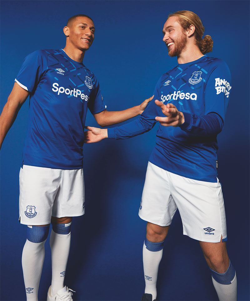 sports shoes 08a34 37987 Everton launch 2019-20 home kit