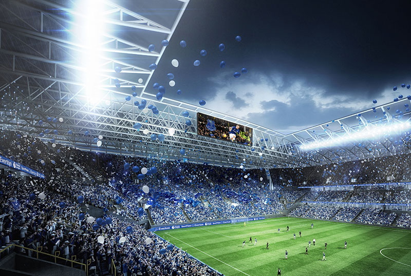Everton Release First Images Of New Stadium