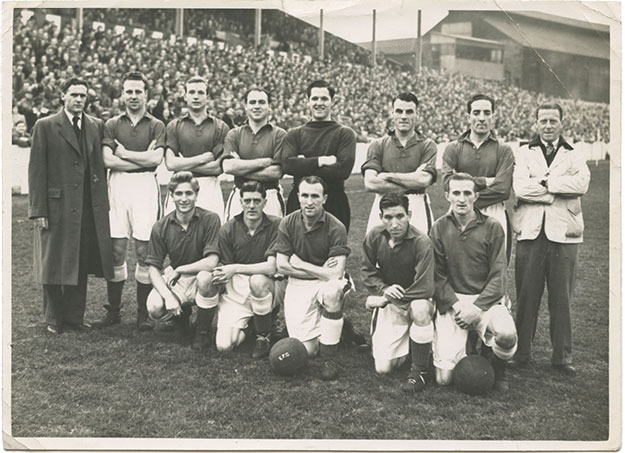 Everton team photo