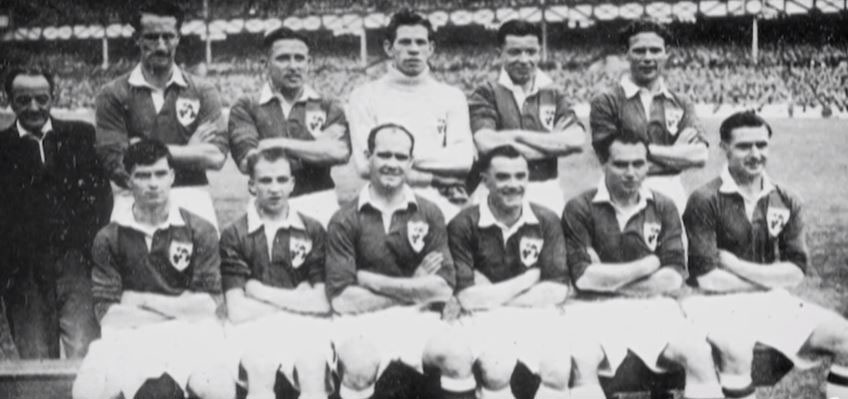 FAI team at Goodison Park, 1949