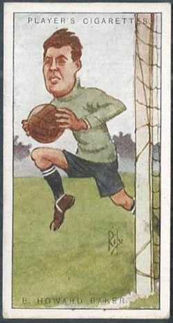 Benjamin Howard Baker cigarette card