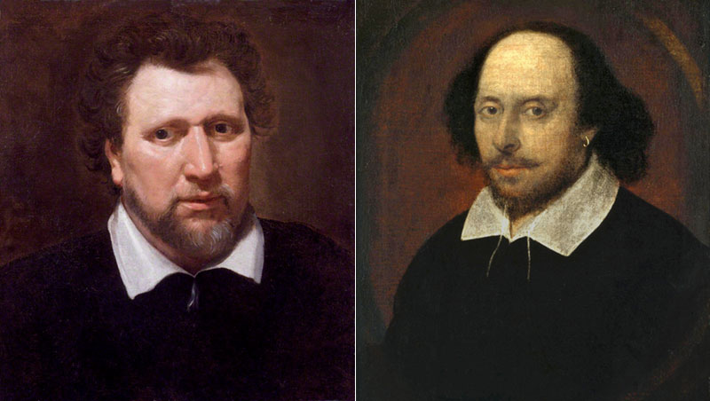 Benjamin Jonson and William Shakespeare