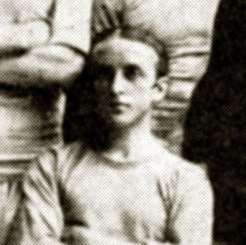 Samuel Bolton Ashworth during his time with Manchester City in 1904