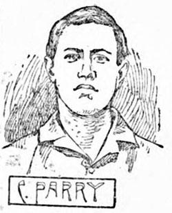 Charlie Parry sketch, 1898