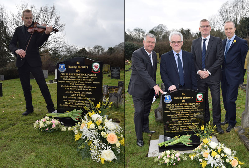 EFC Heritage Society Charlie Parry grave event