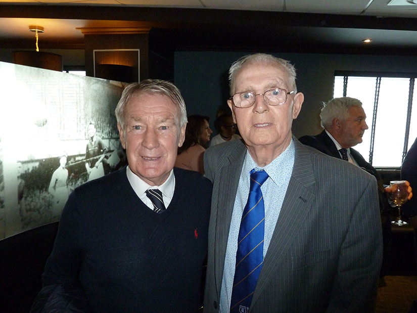 Colin Harvey with Fred Pickering at Goodison Park