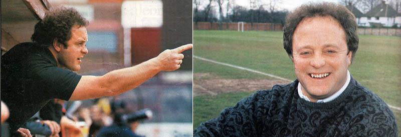Mick Heaton 1982-83 season and 1986