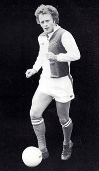 Mick Heaton as a player at Blackburn Rovers