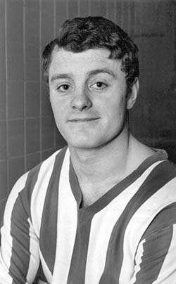 Mick Heaton at Sheffield United in 1966