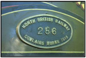 North British Railway Cowlairs works plaque.jpg