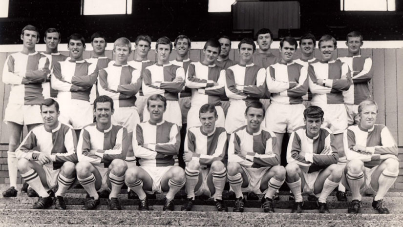 Blackburn Rovers circa 1968