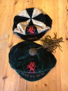 Smart Arridge's Welsh caps