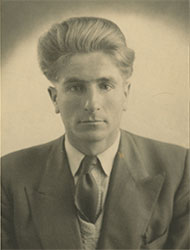 Dave Hickson portrait from 1953