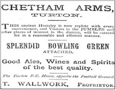 Chetham Arms clipping