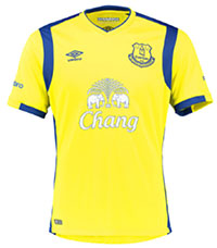 Everton launch new third kit 244357816