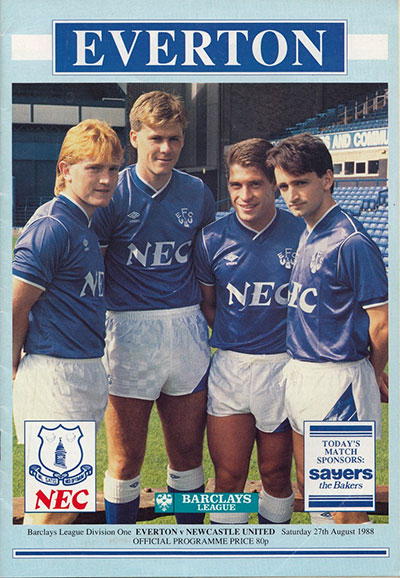 Everton's new signings, 1988