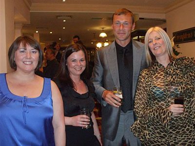 Duncan Ferguson arrives