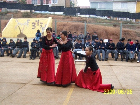 Dancers from the Centro Educativo